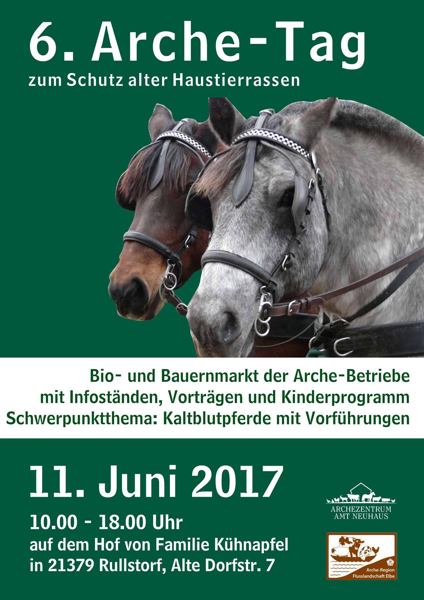 6. Arche-Tag der Arche-Region Flusslandschaft Elbe